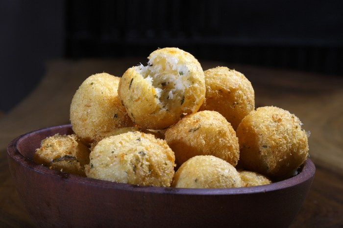 ... best Brazilian fried food: Chicken croquettes and salt cod fritters