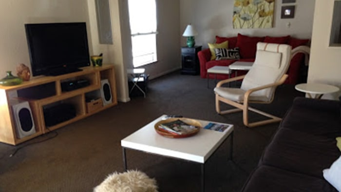Before and after pics mobile home remodel take it from - Before and after the spectacular change of a s living room ...