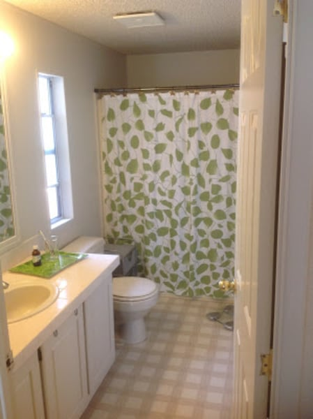 courtesy of kim thompson - Mobile Home Bathroom Remodeling