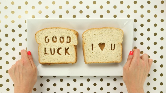 Good Luck Peanut Butter Sandwiches