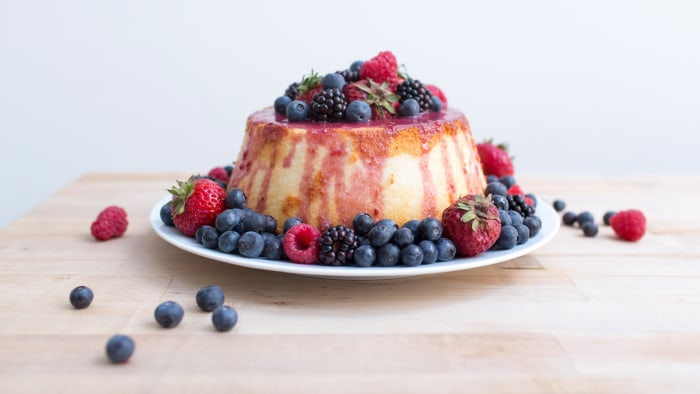 Berry glaze, food hacks