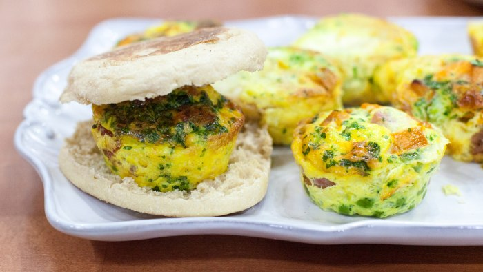 Joel Gamoran's kid-friendly muffin tin fittatas