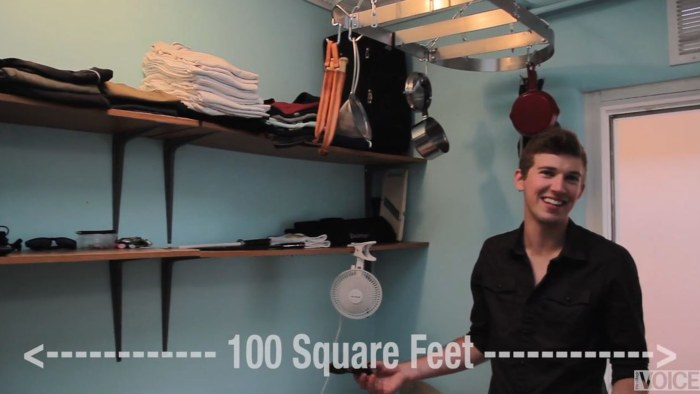 Tour This Man S 100 Square Foot Nyc Apartment Today Com