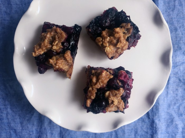 Blueberry Oat Bars recipe