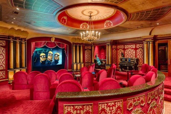 White house look alike in dallas hits the market - Home theater design dallas inspired ...