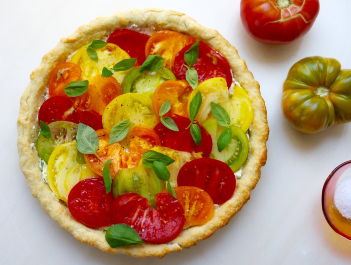 Tomato tart recipe easy