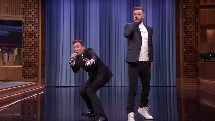 Justin Timberlake White Shoes On Tonight Show