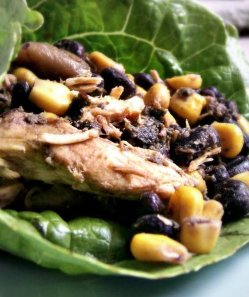 Slow Cooker Cilantro Lime Chicken Recipe — Dishmaps