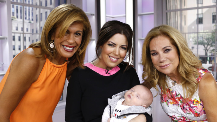 bobbie thomas 39 new baby made his today show debut. Black Bedroom Furniture Sets. Home Design Ideas