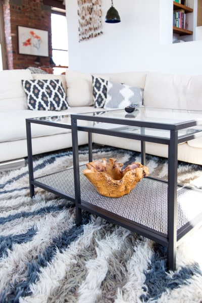 Ikea hack add style to your coffee table with this diy today samantha okazaki today watchthetrailerfo