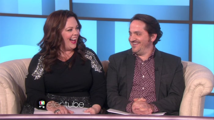 Not so newlywed game see how well melissa mccarthy and husband know