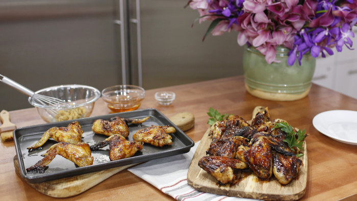 Martha Stewart, chicken wings
