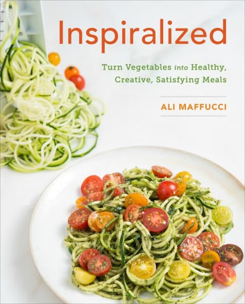Inspiralized cookbook by Ali Maffucci