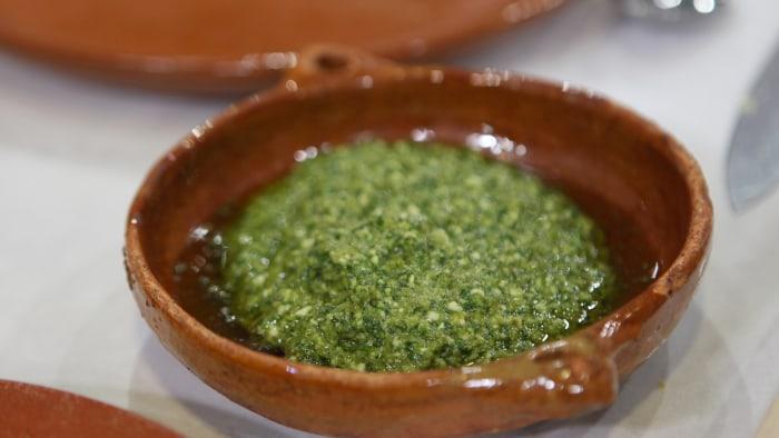 Bobby Flay's Jalapeno Pesto Sauce