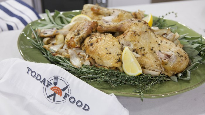 Al Roker's perfect roasted chicken on TODAY.