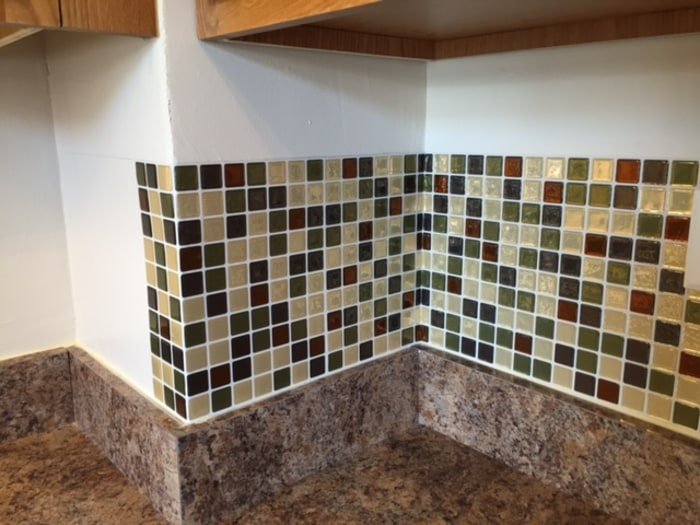 TODAY tests temporary backsplash tiles from Smart Tiles TODAYcom