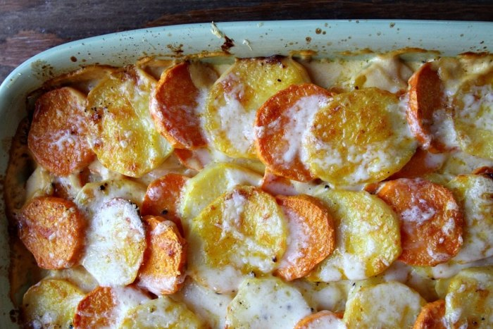 Pumpkin Scalloped Potatoes