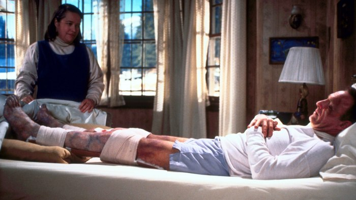 Misery Stars Kathy Bates James Caan Reunite Discuss