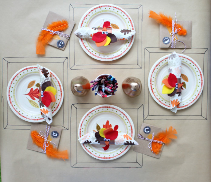 katie - Thanksgiving Table Setting Ideas Easy