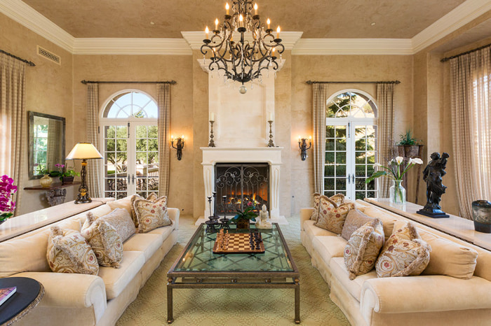 celebrities living rooms buys 20 acre southern california home 11563