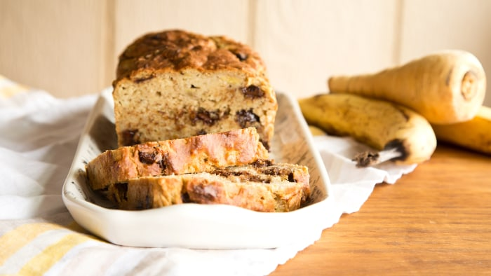 Parsnip Banana Bread recipe