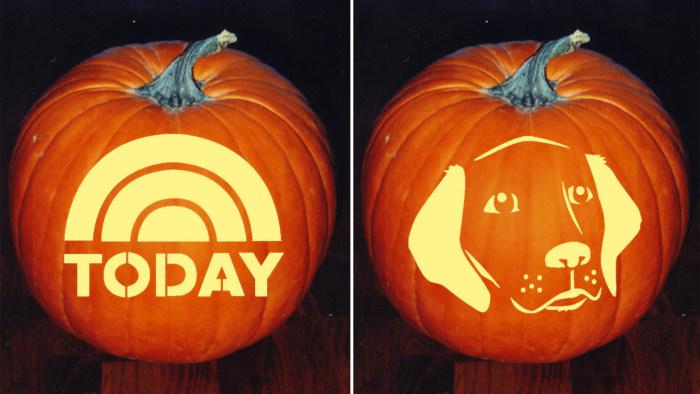 10 amazing halloween party ideas recipes pumpkin for Big pumpkin carving patterns