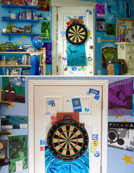 Morgan McGrew. Teenage brothers re create Andy s room from  Toy Story 3  in