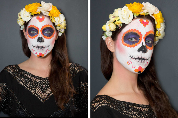Last Minute Halloween Makeup Ideas You Can Create On A