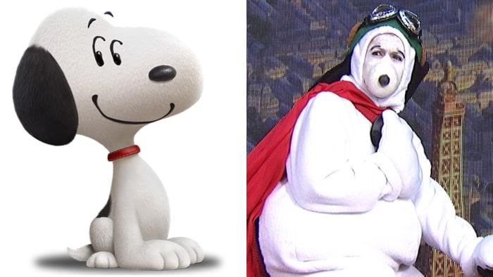 Snoopy and Hoda Kotb