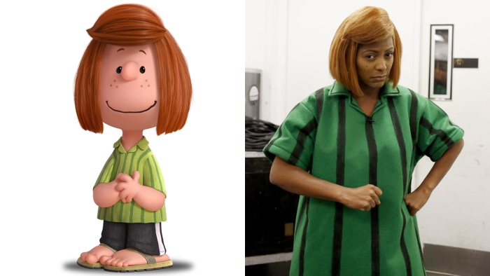 Peppermint Patty and Tamron Hall