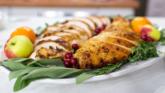 ... turkey sage butter roasted turkey roast turkey with healthy turkey