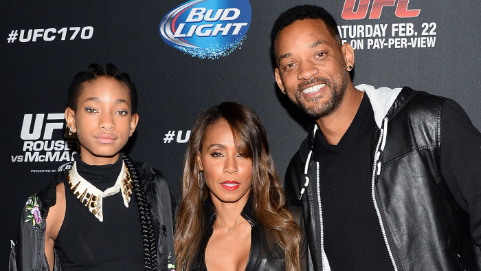 Will Smith posts sweet tribute to daughter Willow on her ...