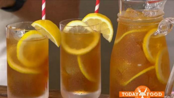 Sunny Anderson's Brooklyn iced tea