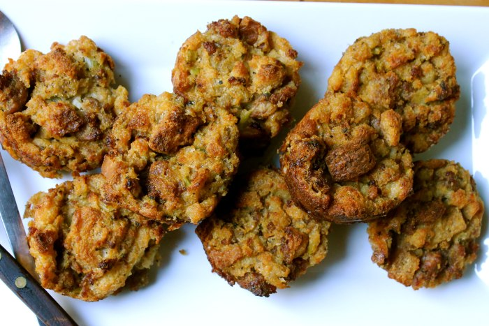 Sausage Stuffing Muffins