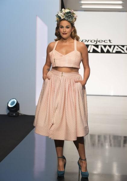 Plus Size Designer Ashley Nell Tipton Wins Latest Project Runway Season Today Com