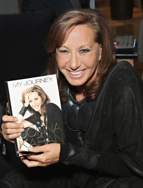 Donna Karan's Book 'My Journey' Shares The Designer's
