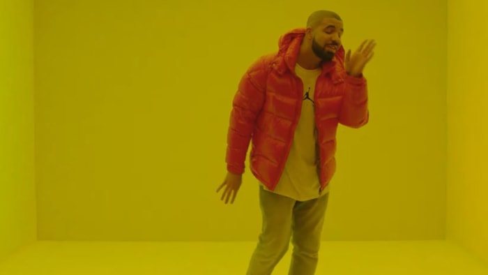 "Drake's ""Hotline Bling"" coat"