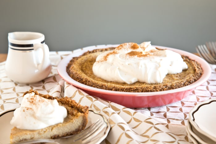 Maple cream pie is a great holiday alternative to pumpkin pie