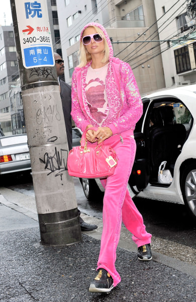Juicy Couture Tracksuit Victoria And Albert Museum Features Outfit Today Com