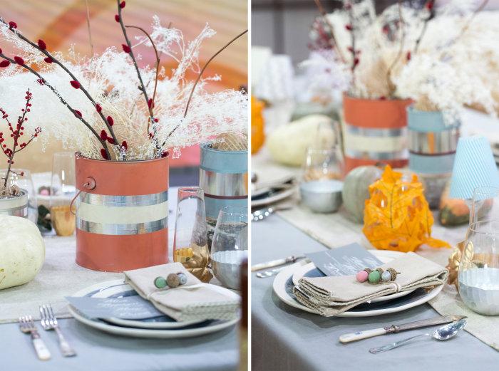 samantha okazaki today - Thanksgiving Table Decorations