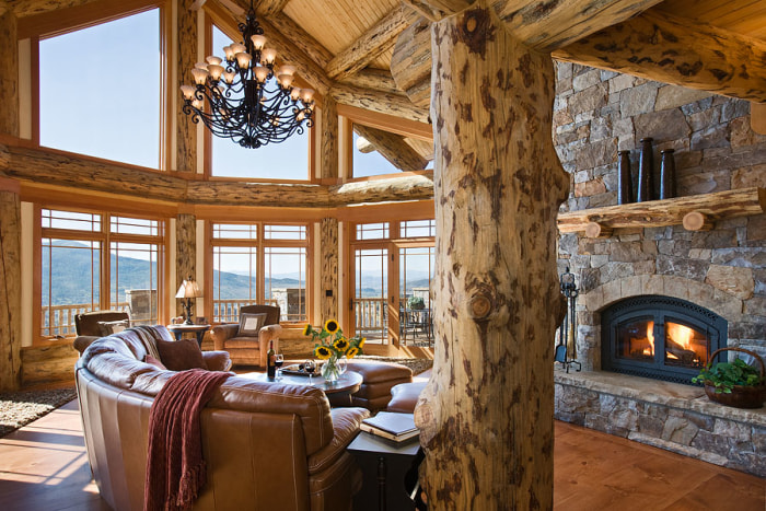 Peek Inside This Just Listed Rustic Colorado Ski Lodge