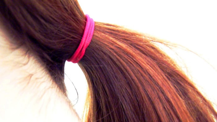 The safest way to wear a hairband? Keep it in your hair.