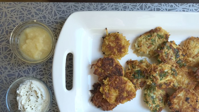 Pumpkin Potato Hanukkah Latkes