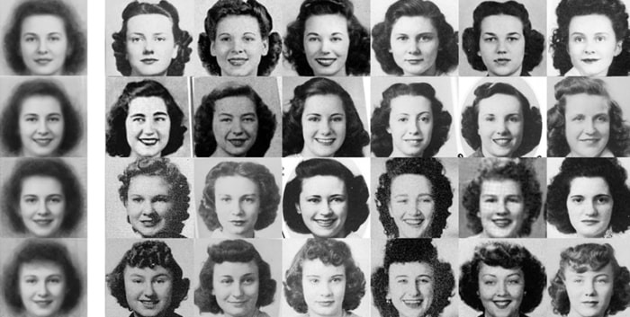 The Evolution Of Smiles In Yearbook Photos Over 100 Years