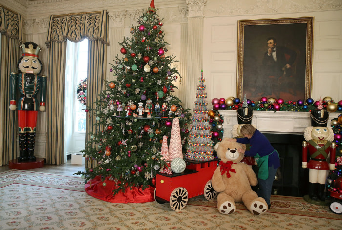 The White House decks the halls for the holidays! Take a tour ...