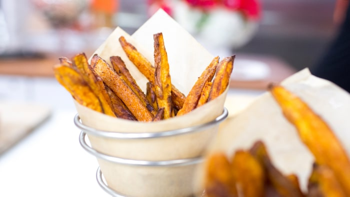 Al Roker's Baked Sweet Potato Fries