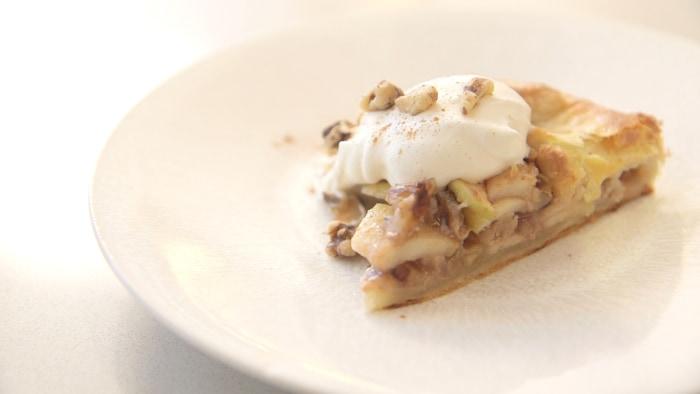 Natalie Morales' apple galette