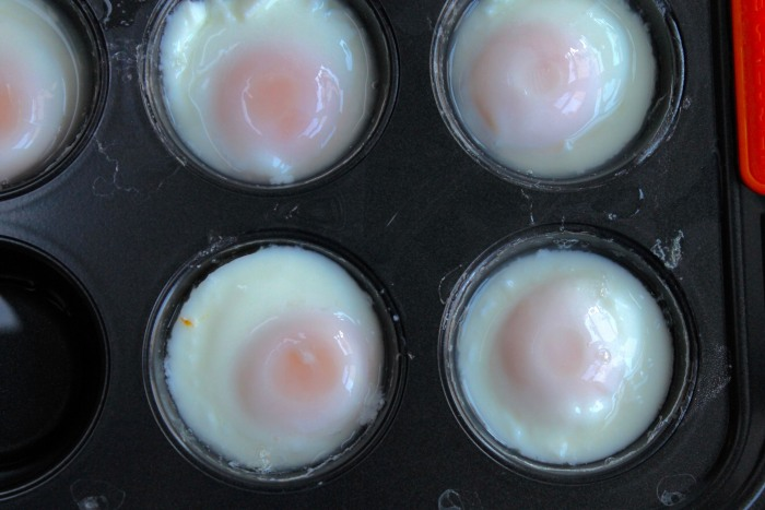 Crispy Rösti Potatoes with Oven-Poached Eggs: Poach eggs in a muffin tin until the whites are set and the yolks are still runny