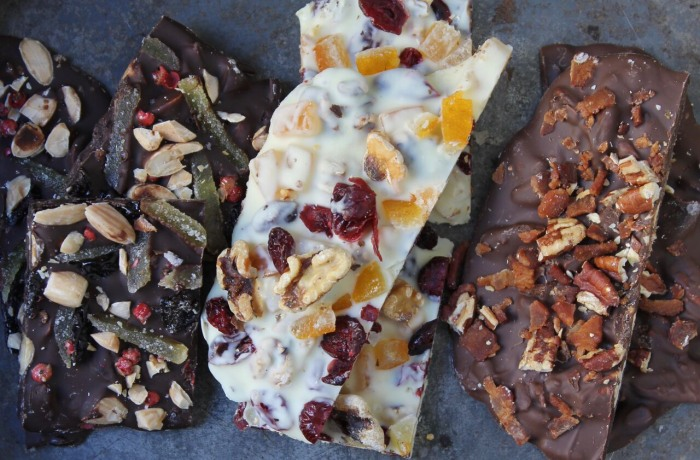 Chocolate Bark 3-Ways