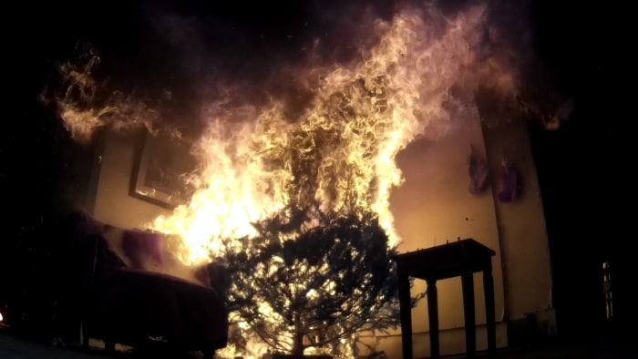 Christmas Tree Fires: Simple Tips To Avoid Potentially